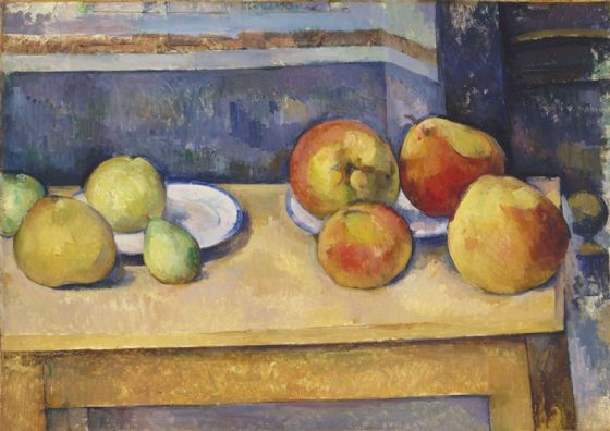 Cezanne, Paul: Still Life with Apples and Pears. Fine Art Print/Poster. Sizes: A4/A3/A2/A1 (004214)